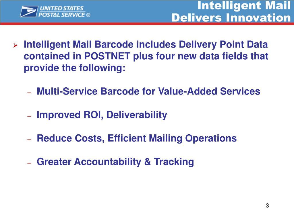 Intelligent Mail