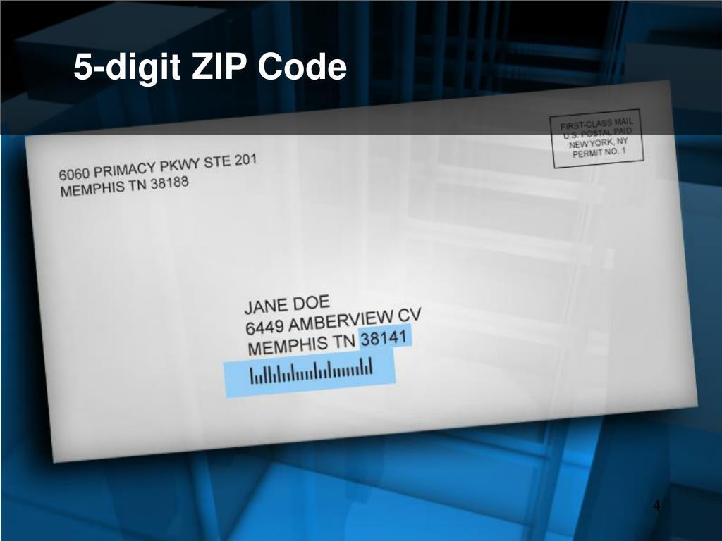5-digit ZIP Code