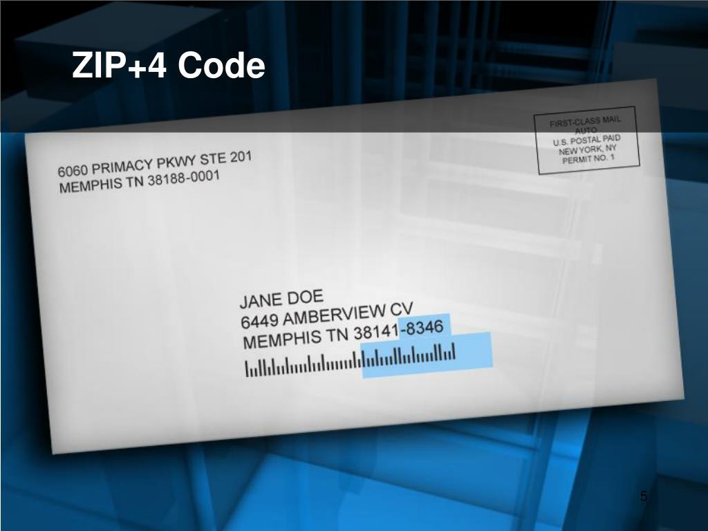 ZIP+4 Code