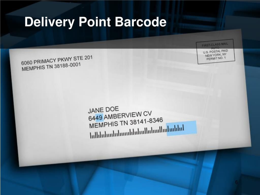 Delivery Point Barcode