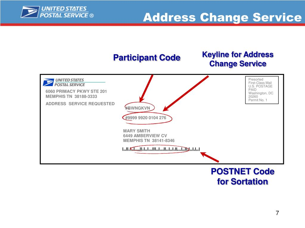 Address Change Service