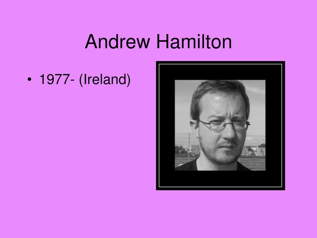 Andrew Hamilton