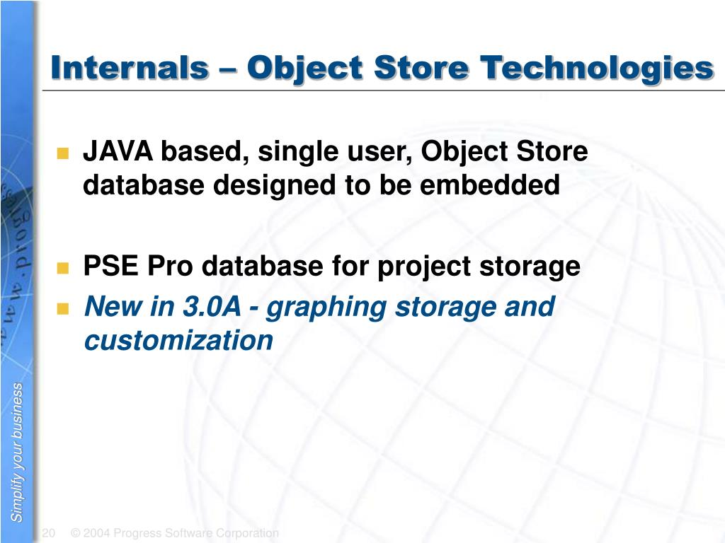 Internals – Object Store Technologies