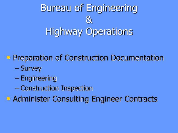 Bureau of Engineering