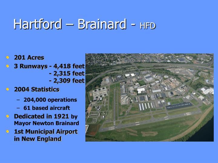 Hartford – Brainard -