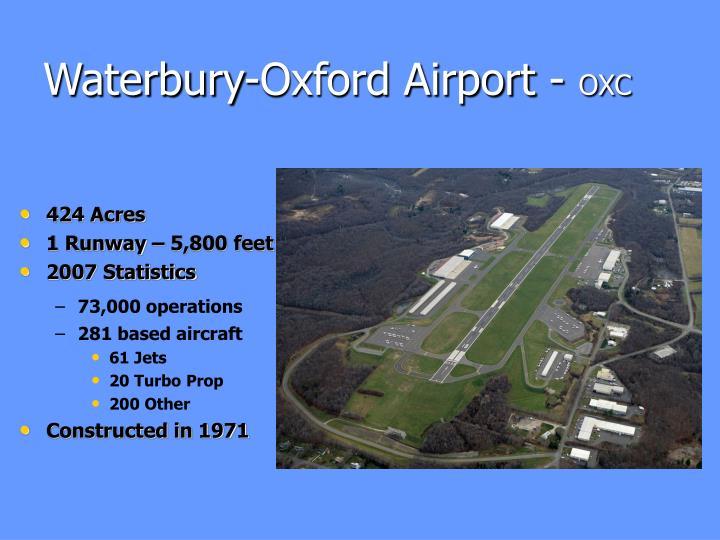 Waterbury-Oxford Airport -
