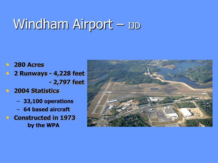 Windham Airport –