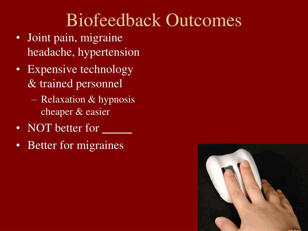 Biofeedback Outcomes