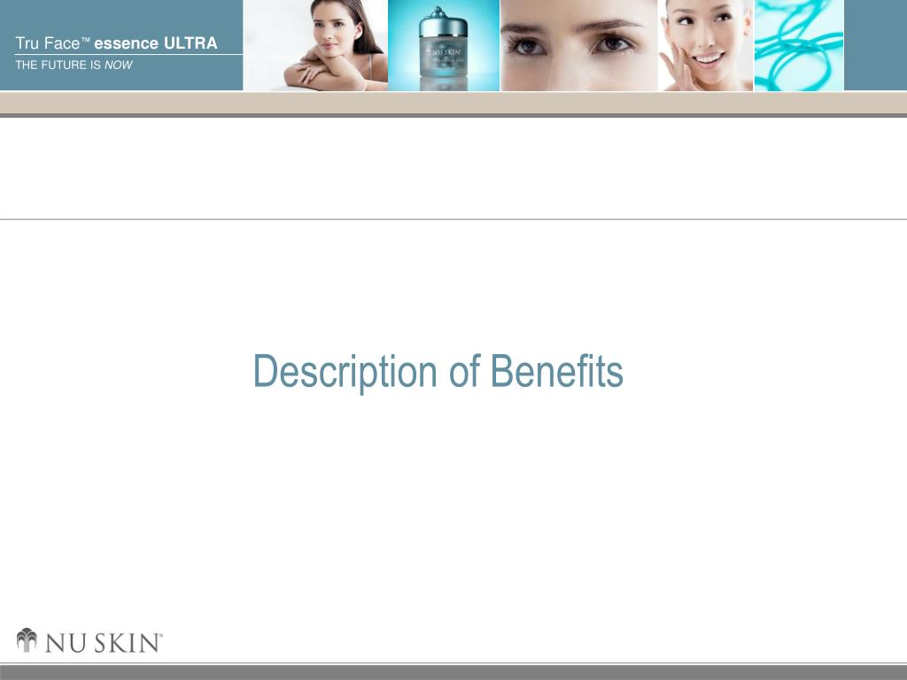 Description of Benefits