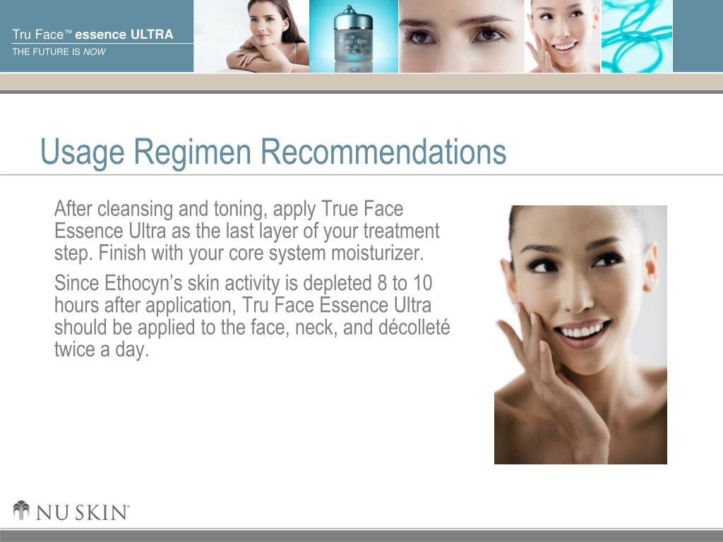 Usage Regimen Recommendations