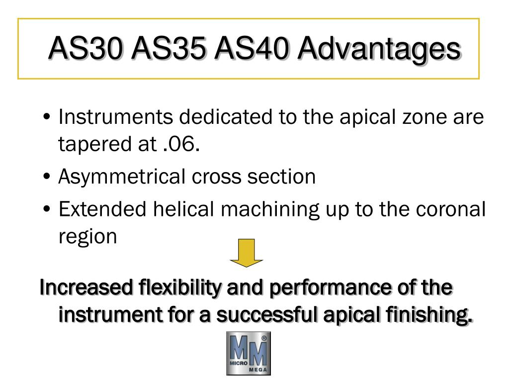 AS30 AS35 AS40 Advantages