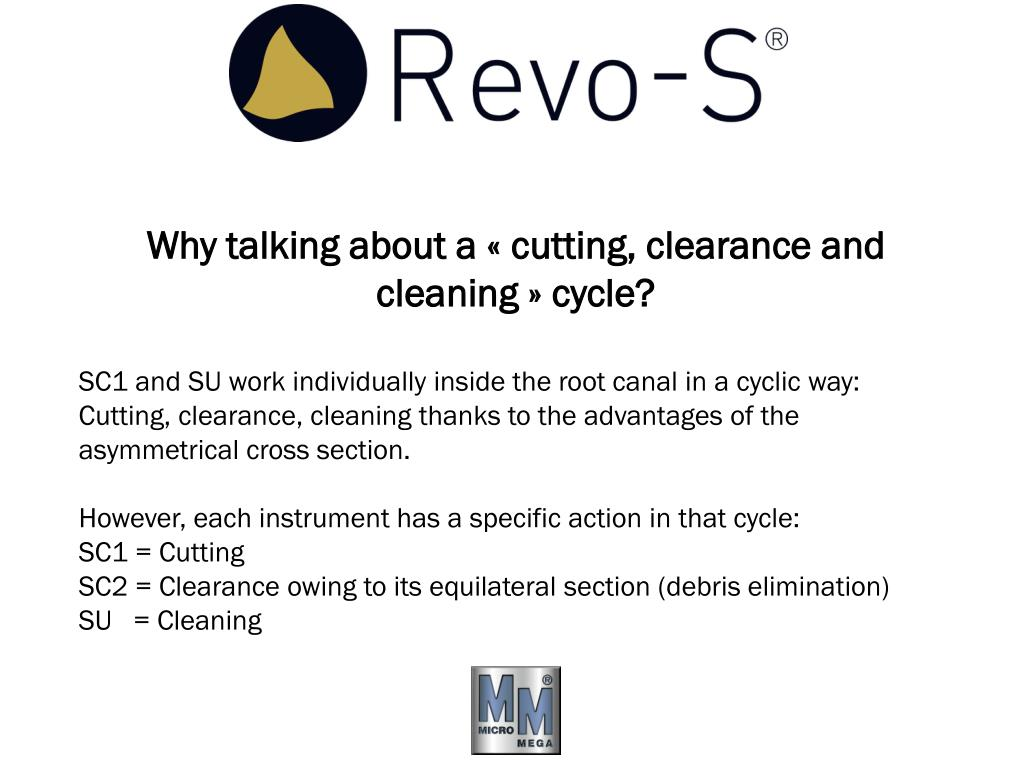 Why talking about a «cutting, clearance and cleaning» cycle?