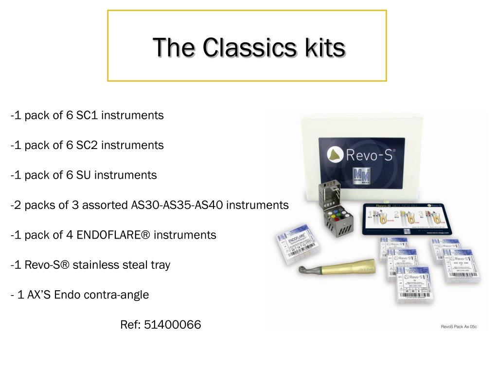 The Classics kits