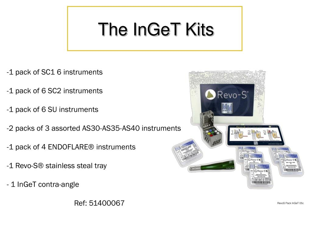 The InGeT Kits