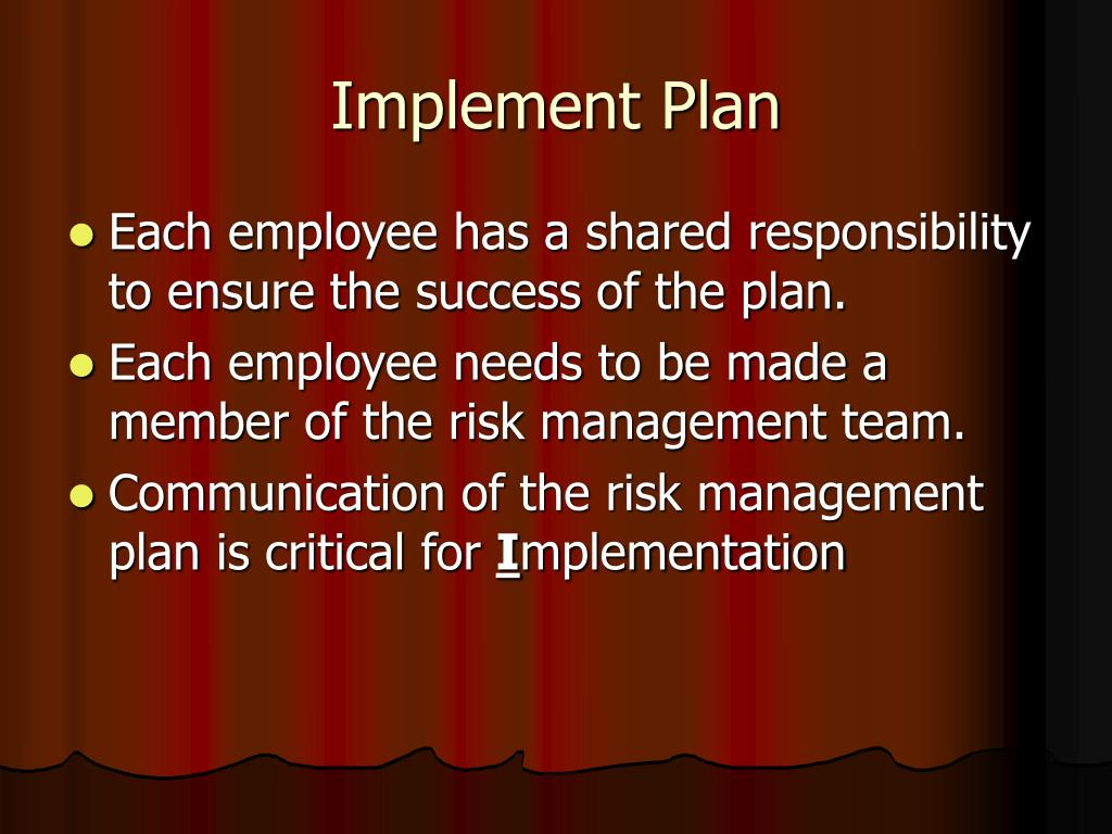 Implement Plan