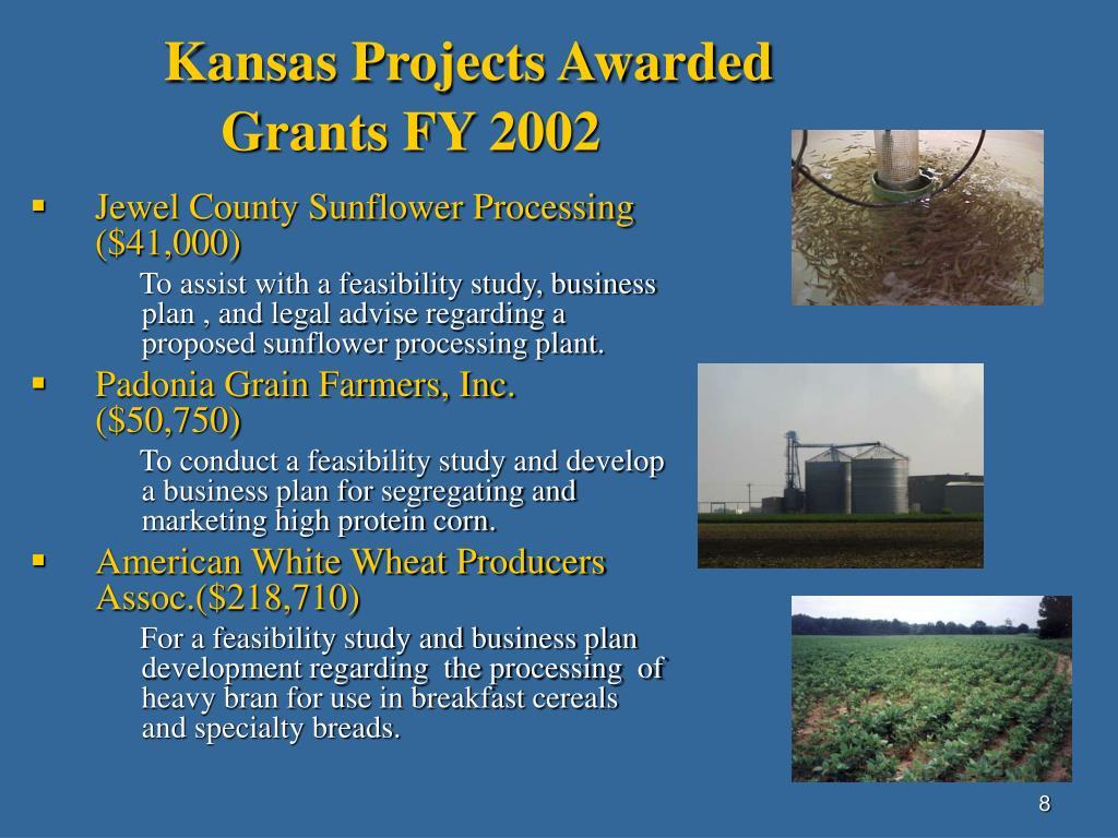 Kansas Projects Awarded