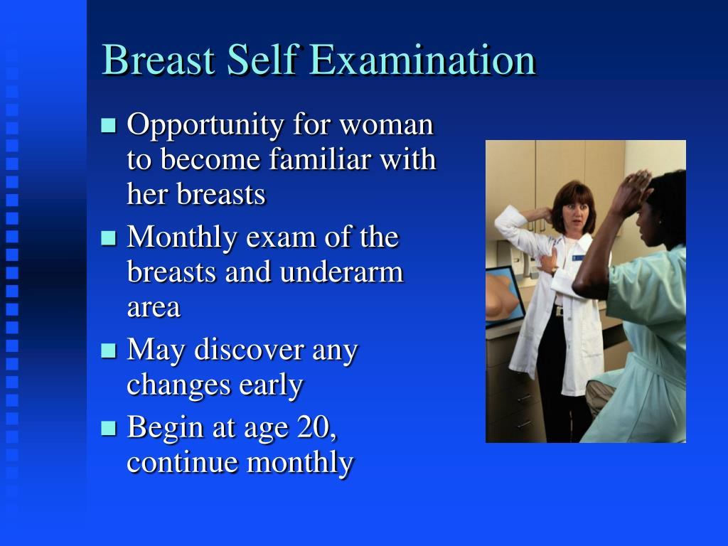 Breast Self Examination