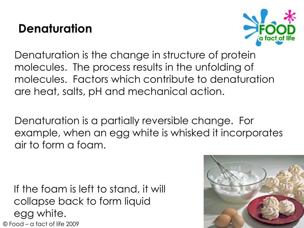 Denaturation