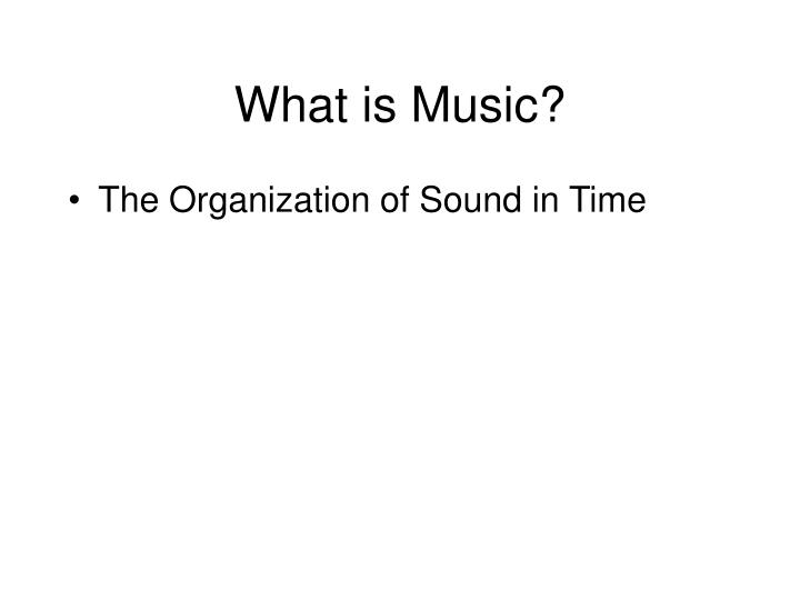 What is music3