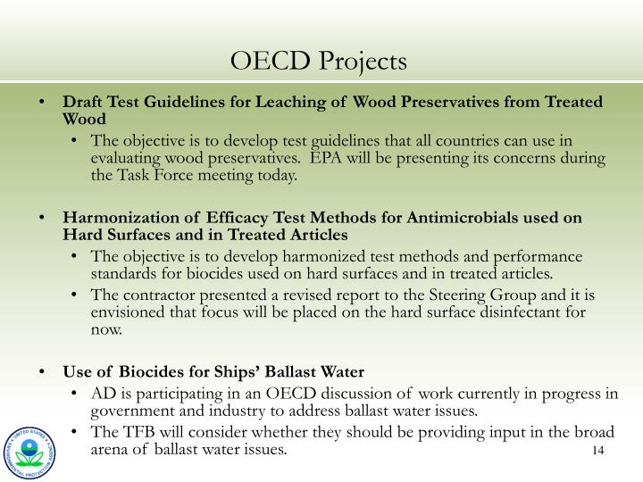 OECD Projects