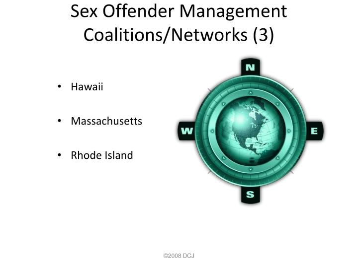 Sex Offender Management Coalitions/Networks (3)
