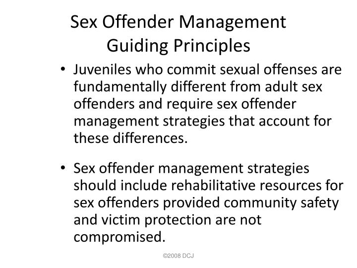 Sex Offender Management