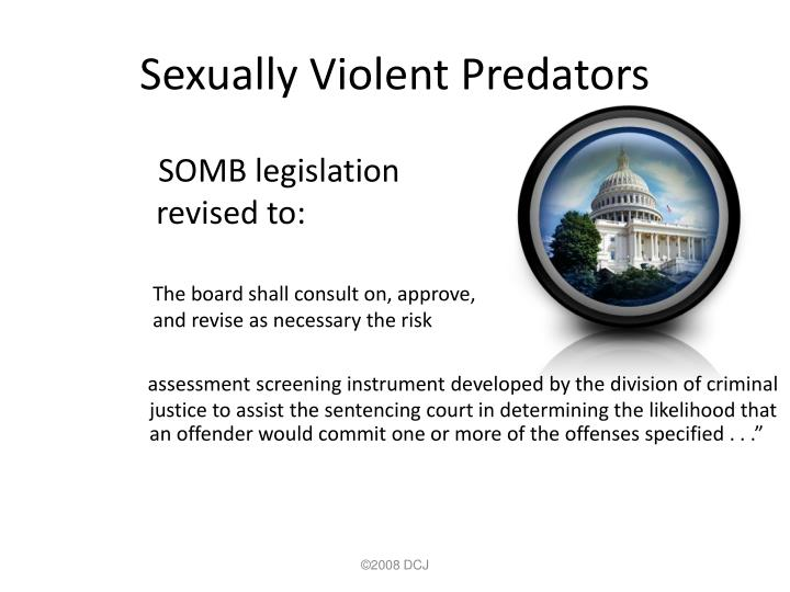 Sexually Violent Predators