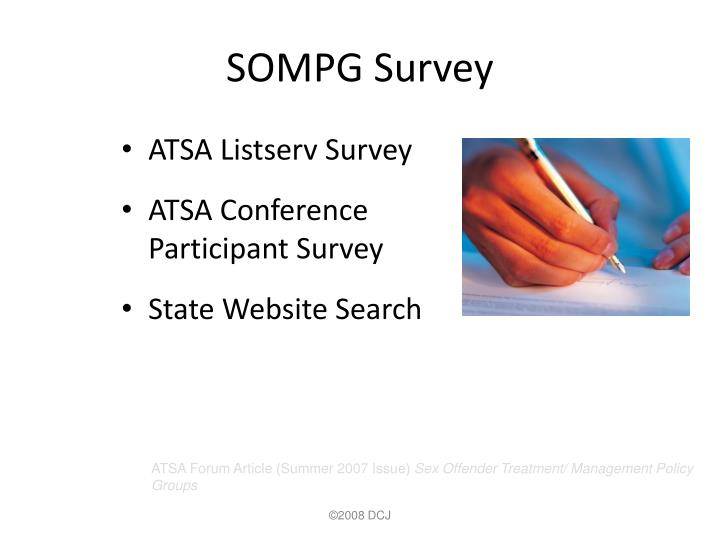 SOMPG Survey
