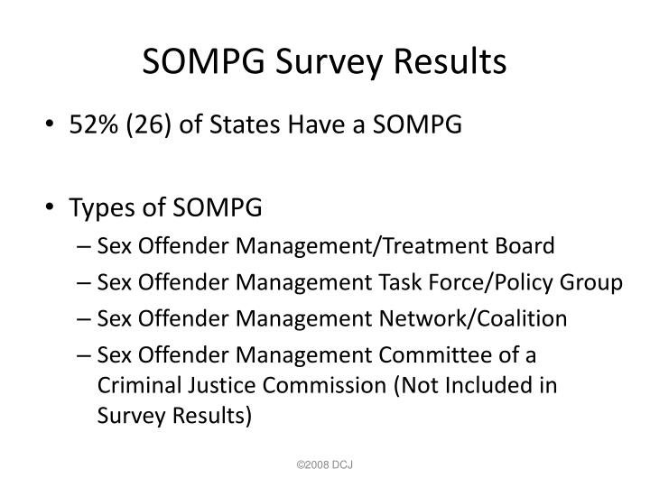 SOMPG Survey Results