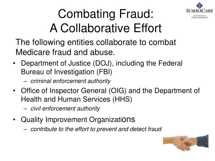 Combating Fraud: