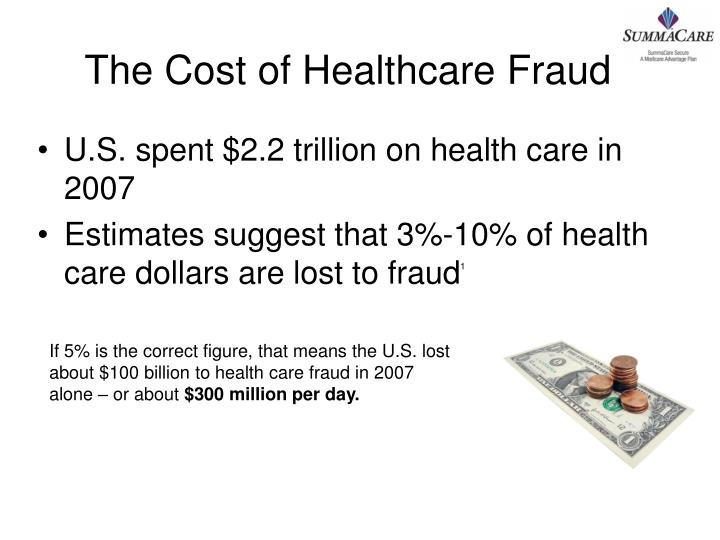 The Cost of Healthcare Fraud