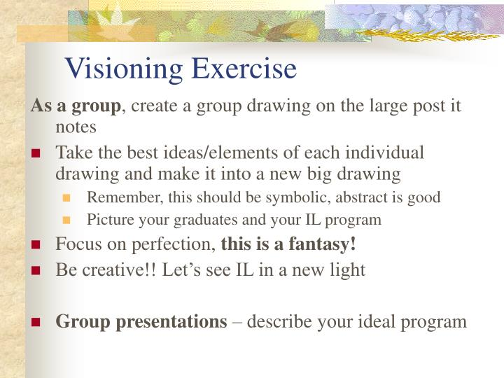 Visioning Exercise