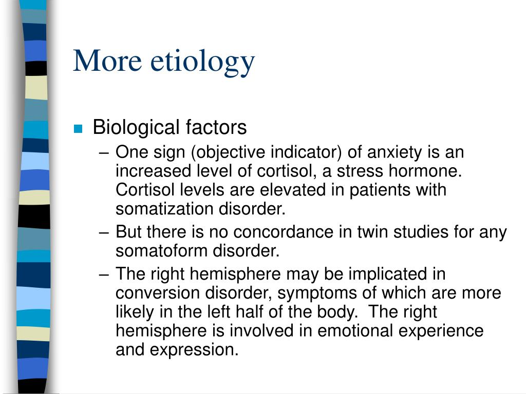 More etiology