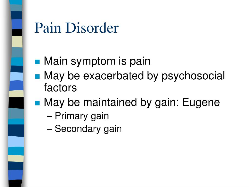 Pain Disorder