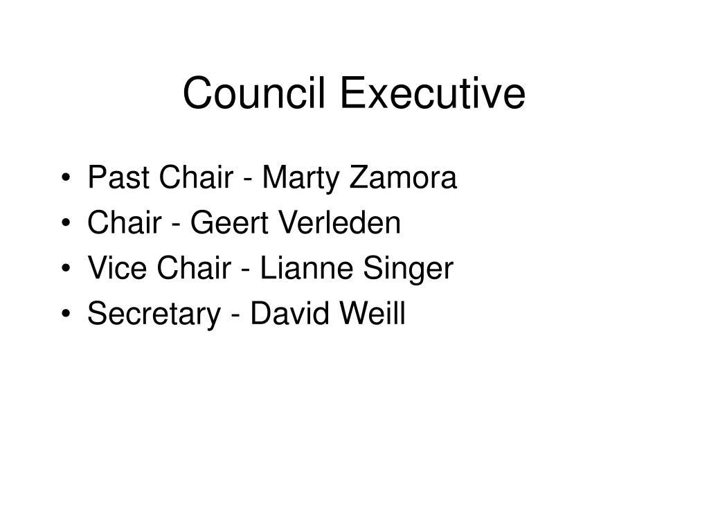 Council Executive