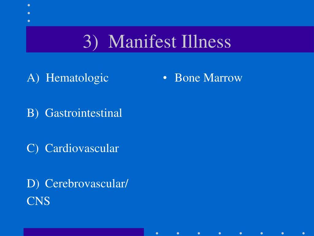 A)  Hematologic