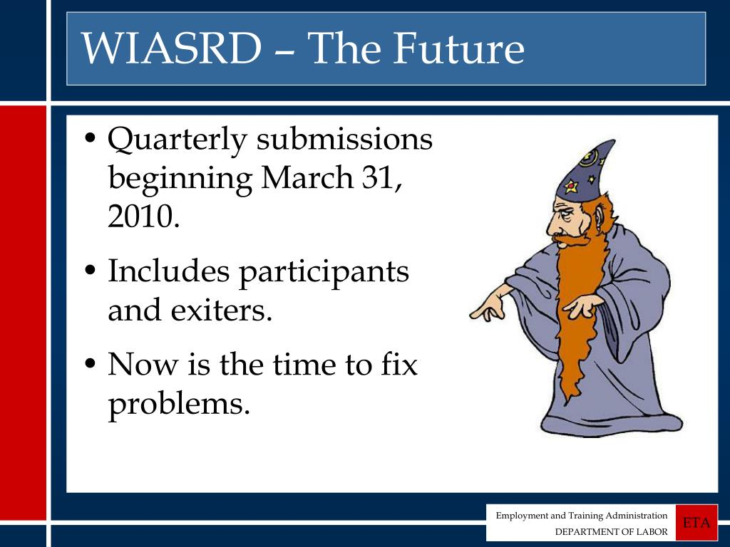 WIASRD – The Future
