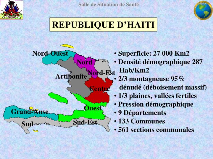REPUBLIQUE D'HAITI