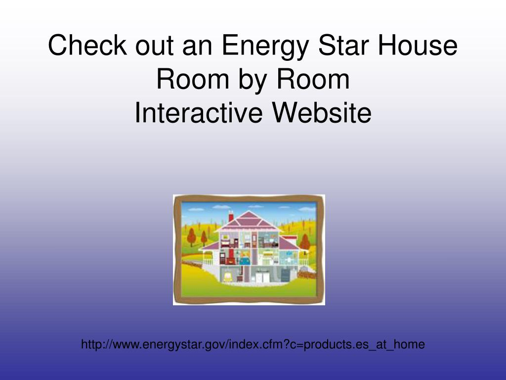 Check out an Energy Star House Room by Room