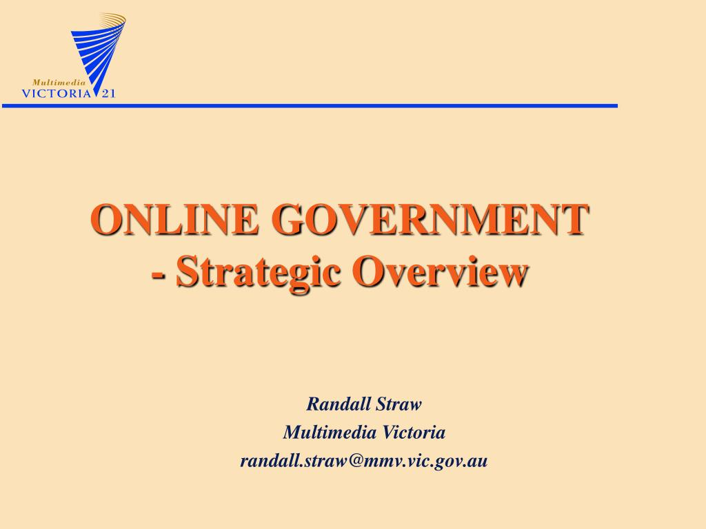 ONLINE GOVERNMENT