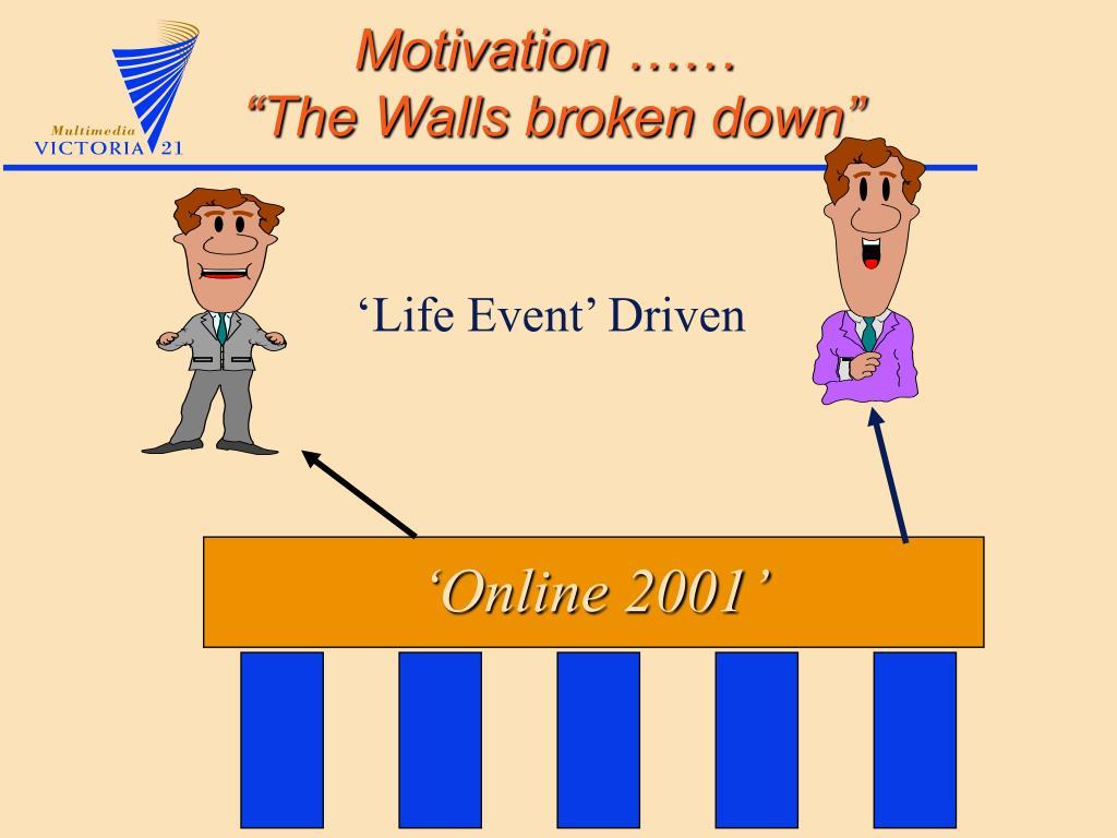 'Life Event' Driven