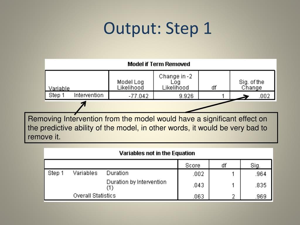 Output: Step 1
