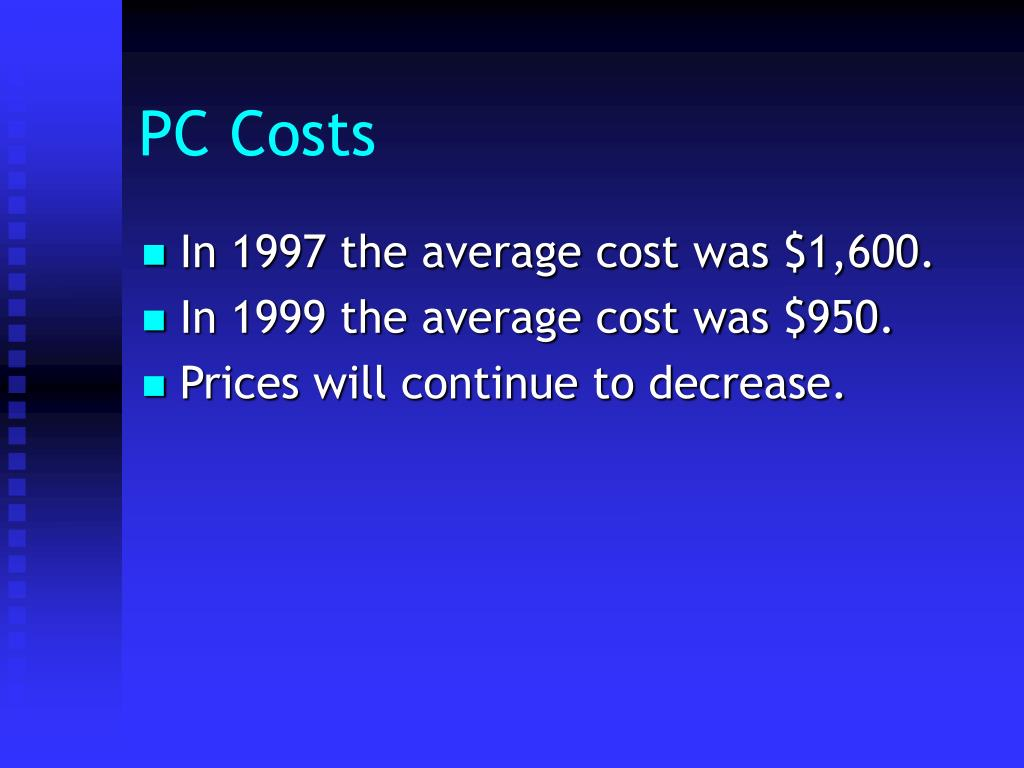 PC Costs