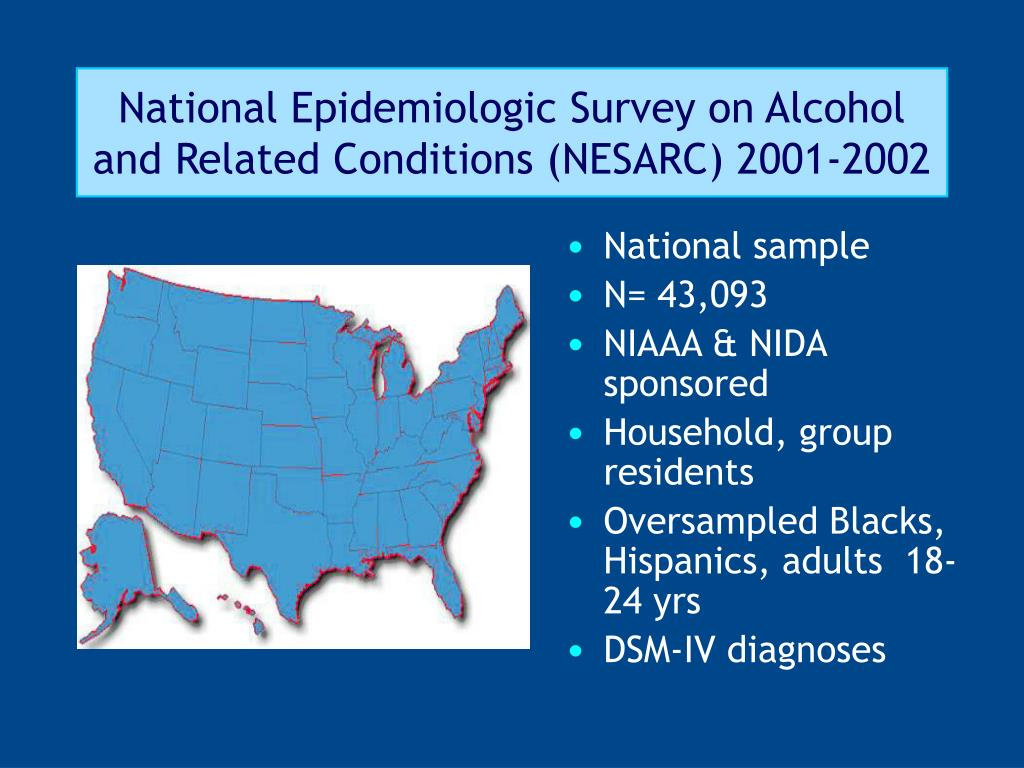National Epidemiologic Survey on Alcohol and Related Conditions (NESARC) 2001-2002