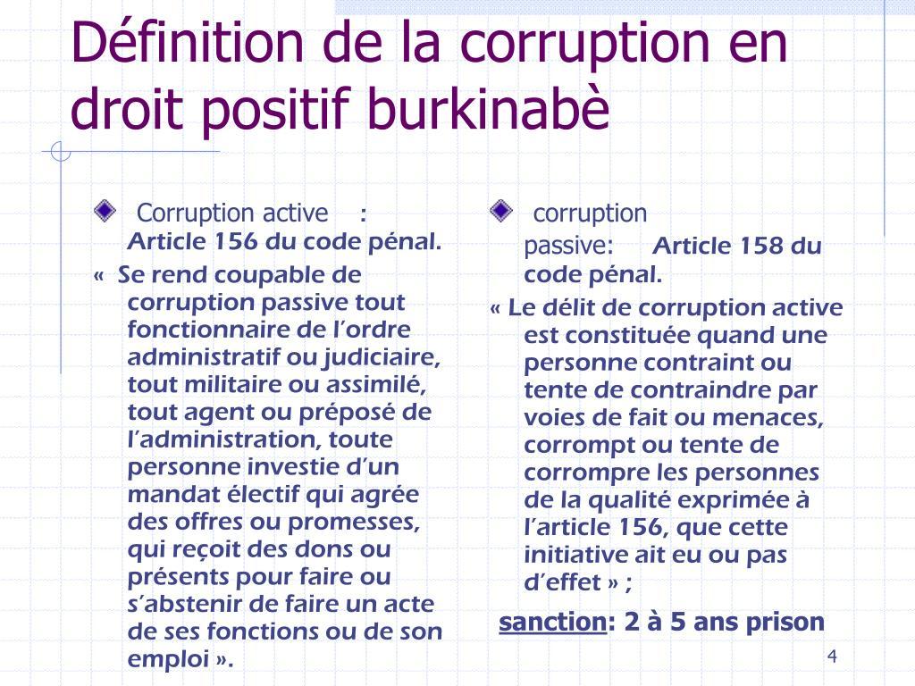 Corruption active