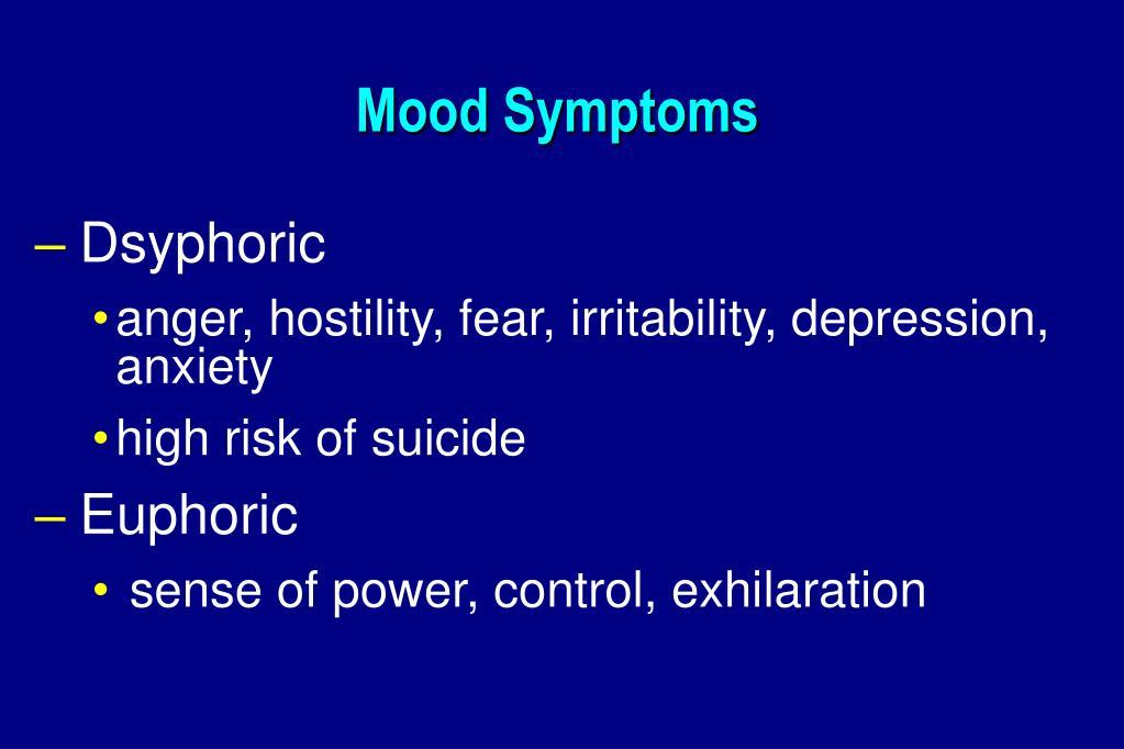 Mood Symptoms
