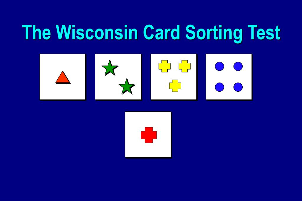The Wisconsin Card Sorting Test