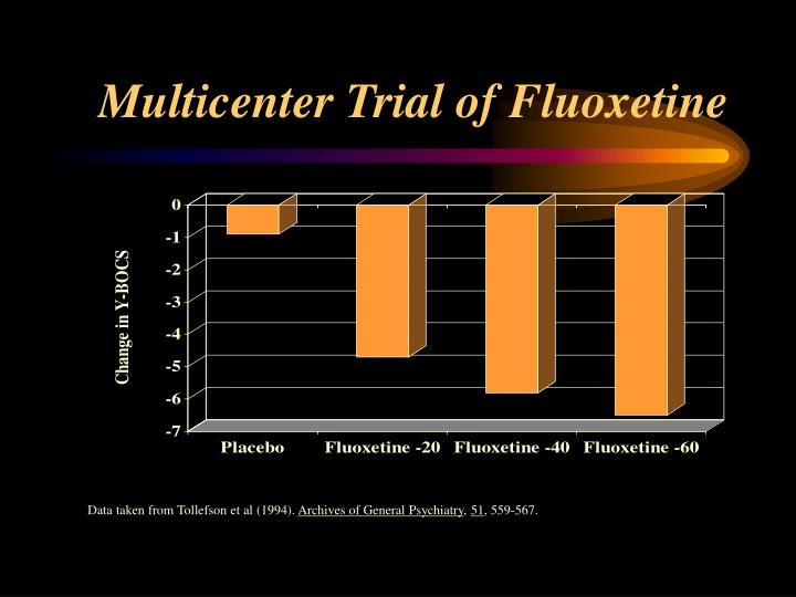 Multicenter Trial of Fluoxetine