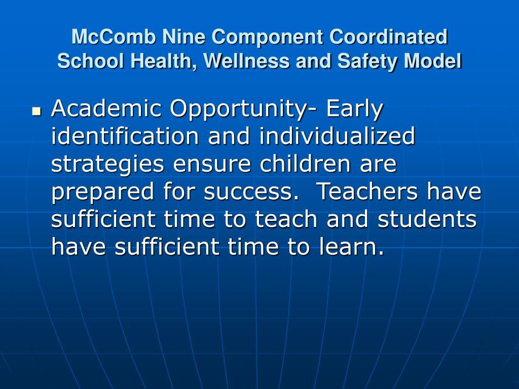 McComb Nine Component Coordinated