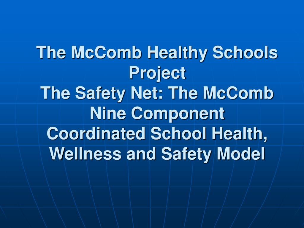 The McComb Healthy Schools Project